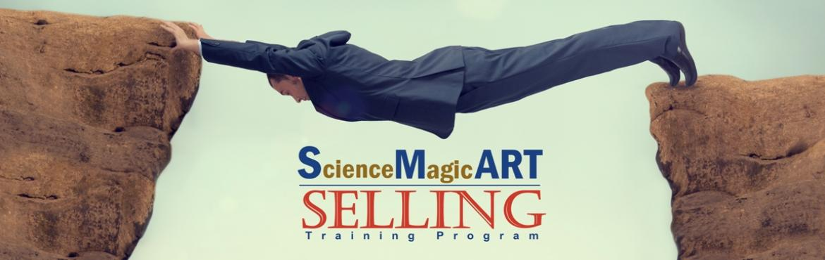 Book Online Tickets for SMART(ScienceMagicART) Selling, Hyderabad.  SMART (Science Magic Art in) SELLING Training Program on 20th DEC 2019 10AM-6PM @ HYD A Hands-on Experiential Workshop on SELLING SKILLS, which explores the Science, Magic, Art in Selling, designed exclusively for Young Sales Pros. \'SMArt Sel