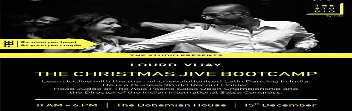 Book Online Tickets for The Christmas Jive Bootcamp, Bengaluru. This party season learn some cool moves and have fun with our JIVE Workshop!Shed your nervousness and inhibitions with our Dance Made Easy Modules.The workshops enables you with1) Basics dance tricks, cheat codes and some party moves for you to enjoy