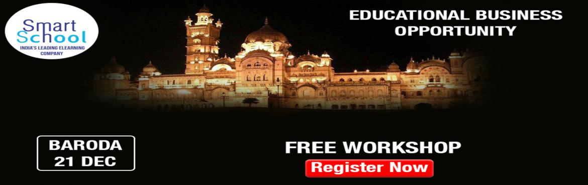 Book Online Tickets for START YOUR OWN BUSINESS IN EDUCATION IND, Vadodara.  First time in Baroda. Start Your Own Business With Fastest Growing E-Learning Company !!! Why You Should Grab This Opportunity? � Assured Repeat Business and Quick ROI. � Minimum Initial Investment � Used by Over 10 Lakh Students and 500