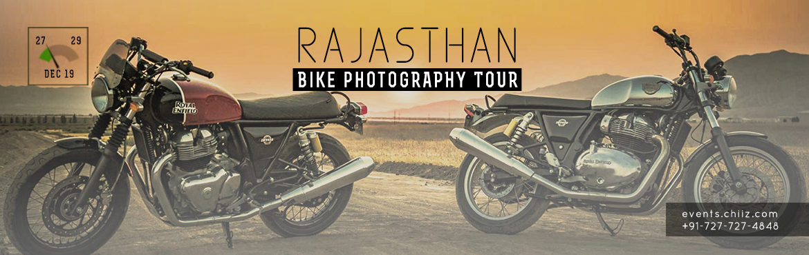 Book Online Tickets for BIKE PHOTOGRAPHY TOUR, Mandawa. Motorbike touring and photography seem to go hand and hand, and it makes sense. You get to travel to incredible places at a relatively slow pace, there is plenty of time to kill, and after the tour is over you want to be able to share your experience