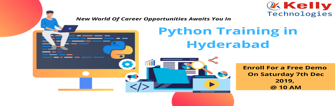Book Online Tickets for Boost Your Programming Career Graph By A, Hyderabad. About The Demo: Python programming is one of the most challenging professions of the 21st & many organizations are in the hint for best-talented professionals in Python. The salary packages in this profession are overwhelmingly higher than that o