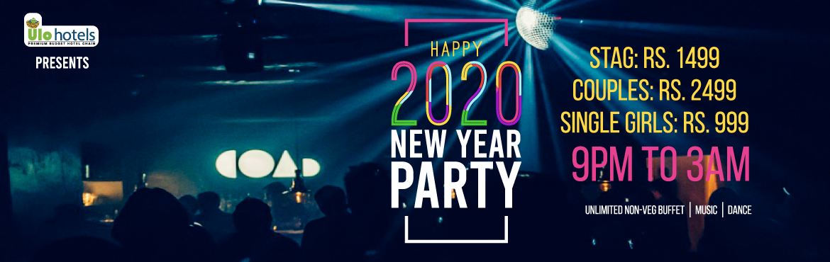 Book Online Tickets for ECR NEW YEAR PARTY 2020, Chennai. ULO Hotels are hosting ECR New Year Party 2020 on 31st December 2019. Once inside you can expect anything from dance, Music,  unlimited buffet. We will turn your New Year into an unforgettable one. Join us now!