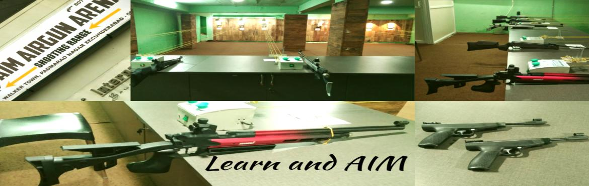 Book Online Tickets for Learn to shoot @ AIM AIR GUN ARENA_Sunda, Hyderabad. Learn and shoot Air guns and Air PistolsEvent Address : AIM AIR GUN ARENA, SecunderabadEvent Type : Learning and FunDifficulty level : Easy to moderateCost : 600/-Transport : With in the City, self transportMeeting point: AIM AIR GUN ARENAhttps://map