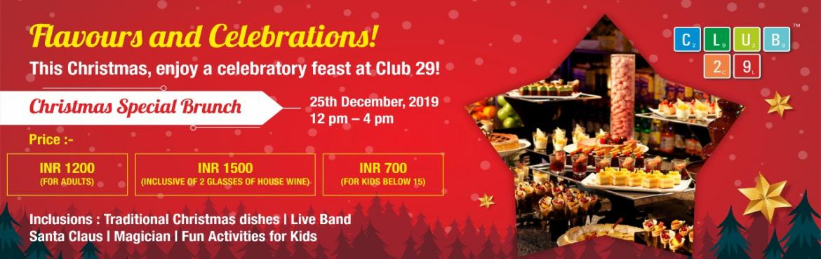 Book Online Tickets for  Best Christmas Eve Party in Pune For Ki, Pune. Hey Punekars,  This Christmas, Club 29 revisits the quintessential tradition featuring a delicious brunch with all the trimmings and a warm winter cocktail menu inspired by the season.   The menu highlights delightful Christmas dishes