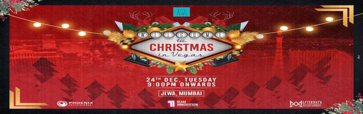 Book Online Tickets for Christmas in Vegas, Mumbai. All is Calm, all is Bright, the Season of Sparkle is here. Mix & Mingle, Eat, Drink and Jingle as we bring to you an exquisite soiree, CHRISTMAS IN VEGAS on 24TH DECEMBER 2019at Mumbai\'s favourite Party destination, JLWA - BANDRA. We don&r