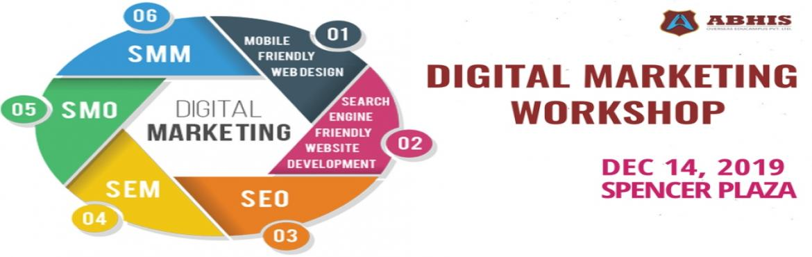 Book Online Tickets for DIGITAL MARKETING WORKSHOP, Chennai. Digital Marketing Workshop with Placement assistance for 2018 and 2019 passed out. Module 1 – SEARCH ENGINE OPTIMISATION (SEO) • On – Page• Off – Page• SEO Audit Tools Module 2 – SEARCH ENGINE MARKETING (SEM) &b