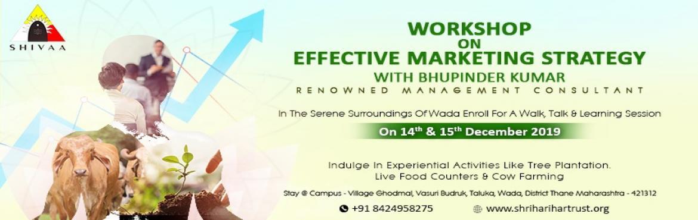 Book Online Tickets for Shivaa NGO - Effective Marketing Strateg, Wada.