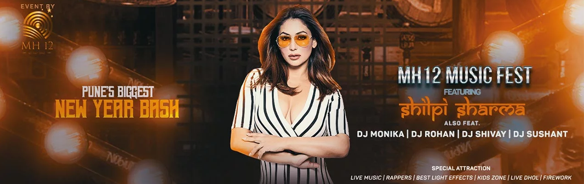 Book Online Tickets for MH-12 MUSIC FEST, Pune. MH-12 Music fest 2019 This New Year\'s Eve celebration will be full of vibrant crowd who would be from Pune, Mumbai,etc. For entertainment we would have top dj from town, Unlimited music, mouth watering varieties of food and drinks. • Artists &n