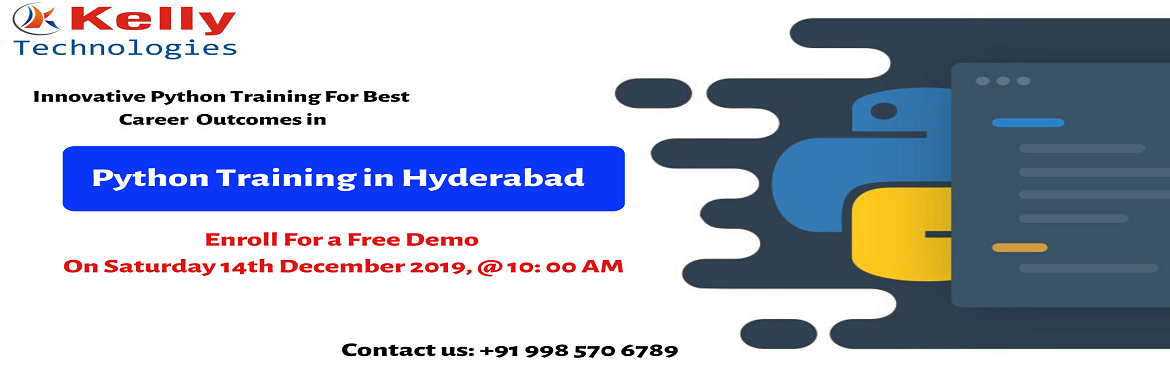 Book Online Tickets for Boost Your Programming Career Graph By A, Hyderabad.  About The Demo: Python programming is one of the most challenging professions of the 21st & many organizations are in the hint for best-talented professionals in Python. The salary packages in this profession are overwhelmingly higher than