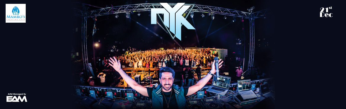 Book Online Tickets for DJ NYK December Blowout, Pune. Event name- DJ NYK December Blowout Venue- mambos lake side café, sarovar hotel. oppo manas, bhugaon, pune Maharashtra 412115 Time- 8pm onwards. It's a DJ night party with DJ NYK among top ten dj\'s of india. Unlimited fun with DJ'