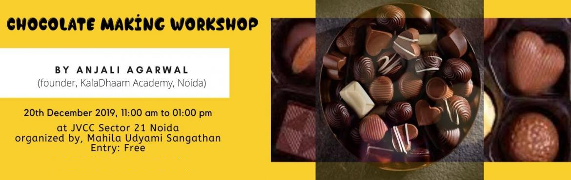 Book Online Tickets for CHOCOLATE MAKING WORKSHOP, Noida, Noida. Wanna gift something to your friends & family,Then not choosing chocolates will seem to be silly. Taking your hobby further is a dream for many. And if that hobby is eating chocolates then what can be better than learning to make chocolates. COME