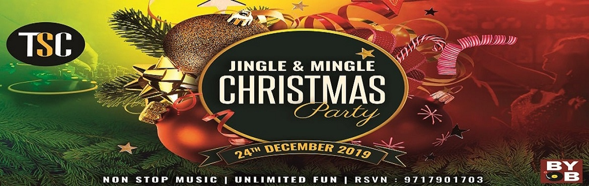 Book Online Tickets for Jingle Bell Christmas Eve Bash, Gurugram. Jingle bell! Jingle bell! Indulge in the season's best Christmas Eve Bash at #TSC with live music by in-house DJs for some dancing and fun!Bring along your buddies and have an unforgettable, splendid and joyous time this festive season.Date: 24