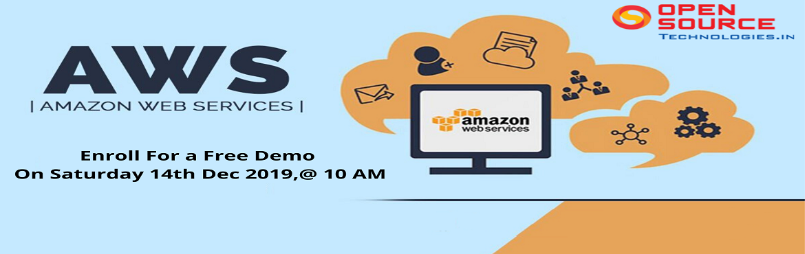 Attend For The Free Demo On AWS Training  Ace Your Cloud Computing Career Skills By Open Source Technologies On 14th Dec, 10 AM, Hyd