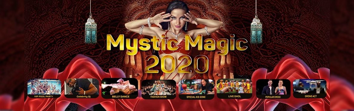Book Online Tickets for New Year Eve MYSTIC MAGIC 2020, Bengaluru. With bigger and better than last season. Join us at \'NYE MYSTIC MAGIC 2020 'pool party - with history of best new year experience we are getting you with best Nye pool party in town ,in heart of Bangalore city with easiest access .Over 6