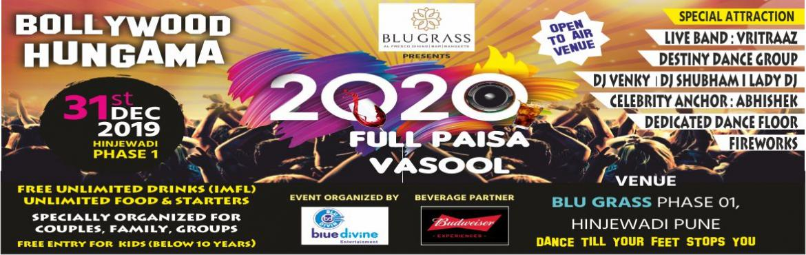 Book Online Tickets for Bollywood Hungama 2020, Pune. \