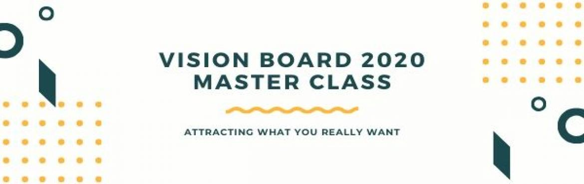 Book Online Tickets for Vision Board 2020 Masterclass, Mumbai. The Concept of Vision Board is Known to some of you and unknown to some of you. Why its is so Important to Have a clarity in what you want in life.Some time we feel the its difficult to see our Own goals and Dreams. And Law of attractions feels like