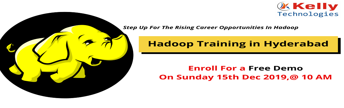 Book Online Tickets for Register For Free Interactive Hadoop Tra, Hyderabad. About The Demo:  In today's competitive world, one of the biggest challenges in the large corporations is to store, manage and process a high volume of data. Hadoop Expertise can only solve all the business issues to face challenges to enhance