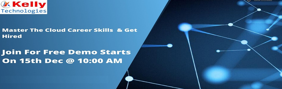 """Book Online Tickets for Register For Free AWS Demo Program Atten, Hyderabad. Overview Of AWS Demo: AWS Demo conducted by the Kelly Technologies is """"must attend"""" for both professionals and as well as for students who are aiming at attaining the best opportunities in a career in the field of AWS. Through this"""