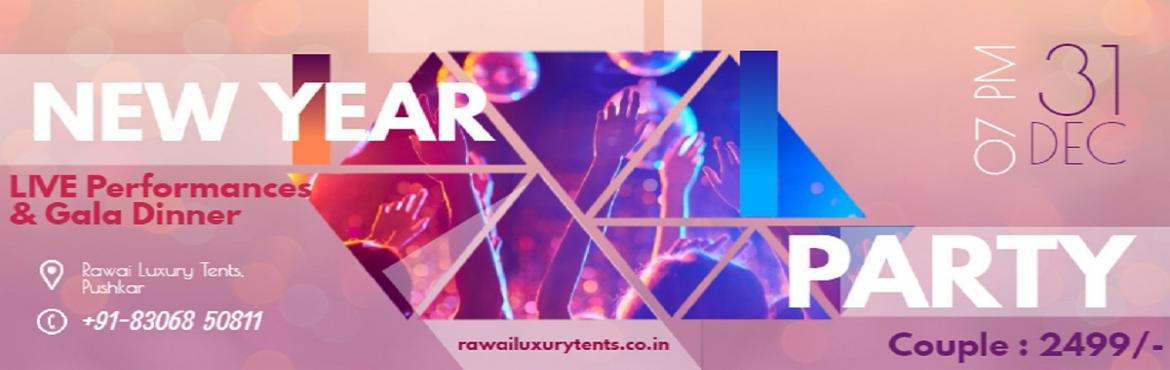 Book Online Tickets for New Year Year Party at Pushkar, Pushkar. The Countdown Bash at @rawailuxurytents is all set to host you in the breathtaking town of Pushkar.Grab the early bird passes at INR 2499/- - Live Performances- Lantern lighting- DJ Night- Bonfire- Gala dinner