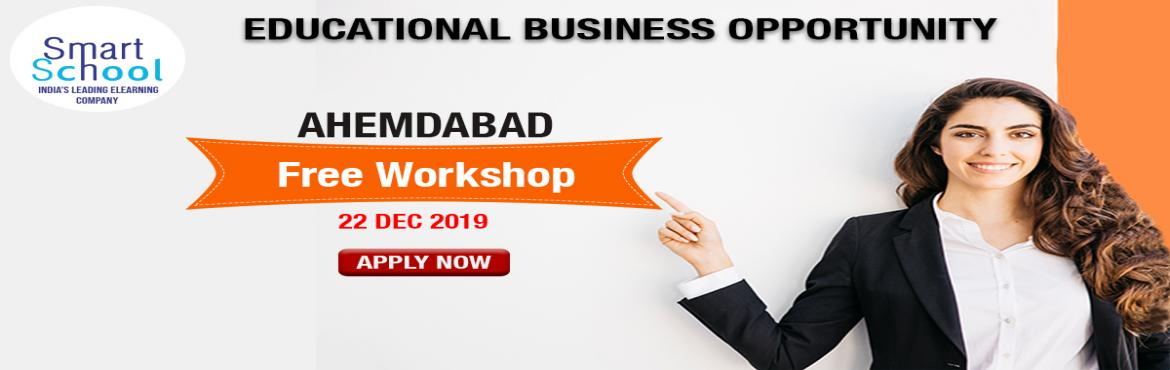 Book Online Tickets for START YOUR OWN BUSINESS IN EDUCATION IND, Ahmedabad.  First time in Ahemdabad. Start Your Own Business With Fastest Growing E-Learning Company !!! Why You Should Grab This Opportunity? � Assured Repeat Business and Quick ROI. � Minimum Initial Investment � Used by Over 10 Lakh Students and