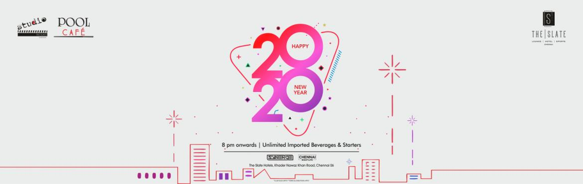 Book Online Tickets for STUDIO 2020 NEW YEAR EVE, Chennai.   THE SLATE HOTELS & SYNERGE   Presents 2020 NEW YEAR PARTY   at AYR, the slate hotels.Revel in the lap of Ibiza-style luxury this New Years Eve at AYR, The Slate Hotels. With its famed roof top and trendsetting nightlife standards