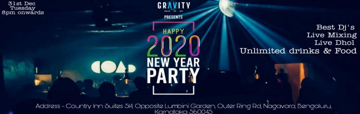 Book Online Tickets for GROOVE IN THE YEAR 2020-POOLSIDE PARTY, Bengaluru.  Groove Into 2020 New year eve in Bangalore, We are all set to say bye-bye to 2019 with great energy. Let\'s Enjoy this new year with us. New Year Celebration 2020 at GRAVITY BAR AND GRILL-COUNTRY INN M SUITES HOTEL (NEAR HENNUR CROSS).Bangalore