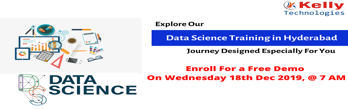 """Book Online Tickets for Get Enrolled For Data Science Training F, Hyderabad. About The Demo: Having been deemed as the """"Most Sexiest Job Of The 21st Century"""" there is an immense scope for succeeding in a career in the in-demand analytics profession of Data Science. In order to help the analytics career desired asp"""