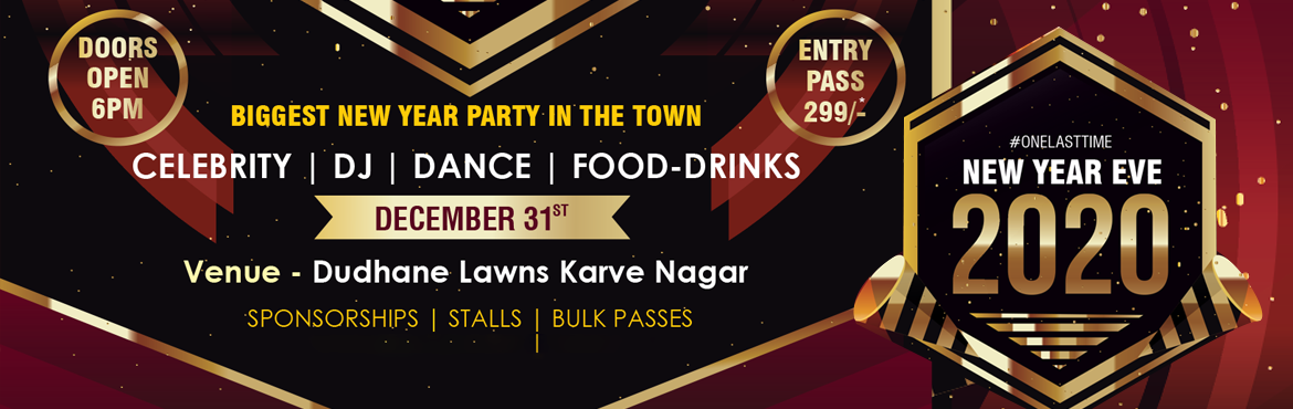 Book Online Tickets for New Year Eve 2020 , Pune. The year has almost come to an end with just a few days left. A lot of you might be planning for the coming new year party. We bring you to the best the new year 2020 party in Pune. Which will definitely make your coming new year a thrilling on