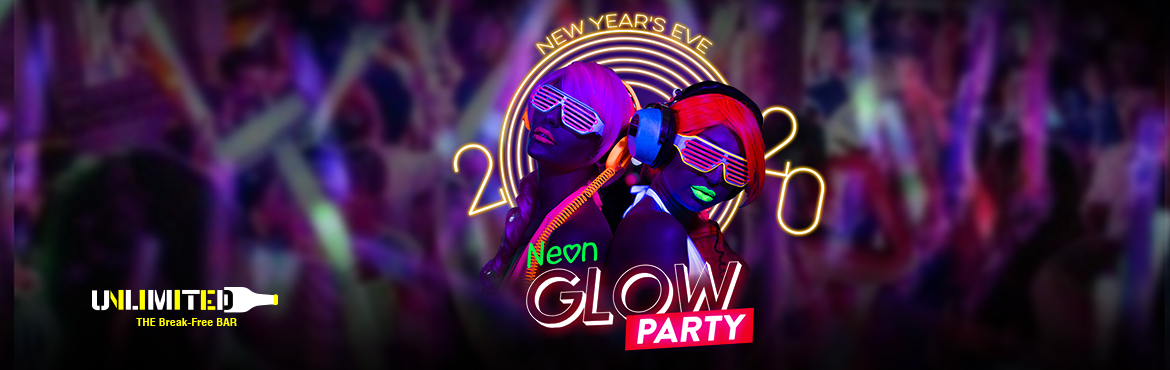 Book Online Tickets for NYE NEON GLOW PARTY, New Delhi.  Neon glow on the wall, sticking to the beat and don\'t wish to fall. Get groovy and glowy with Unlimited\'s Neon Glow party! Celebrate your New Year\'s Eve and drink, dance and say \'cheers\' to one hell of a night. Dance till you drop because