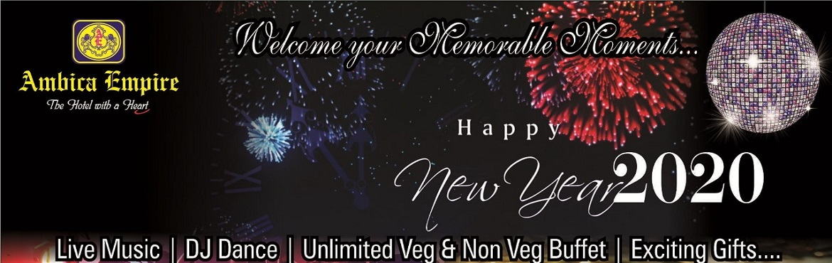 """Book Online Tickets for New Year Bash 2019-Hotel Ambica Empire, Chennai.       ROYAL PALATE-Multicusine Restaurant -7.30 p.m to 12.30 a.m  Rate- Rs.1520/- nett per person     """"Lavish Tu"""