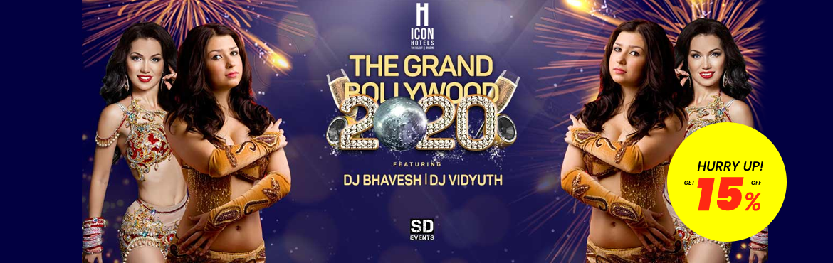 Book Online Tickets for Grand Bollywood - 2020, Bengaluru.  Grand Bollywood - 2020 ICON Premier Bhagini Presents! GRAND BOLLYWOOD 2020 New year celebrations at ICON Premier Bhagini Bellandur. If you\'re looking for the ultimate New Years\' Eve experience in Bangalore, then there is nothing better than G