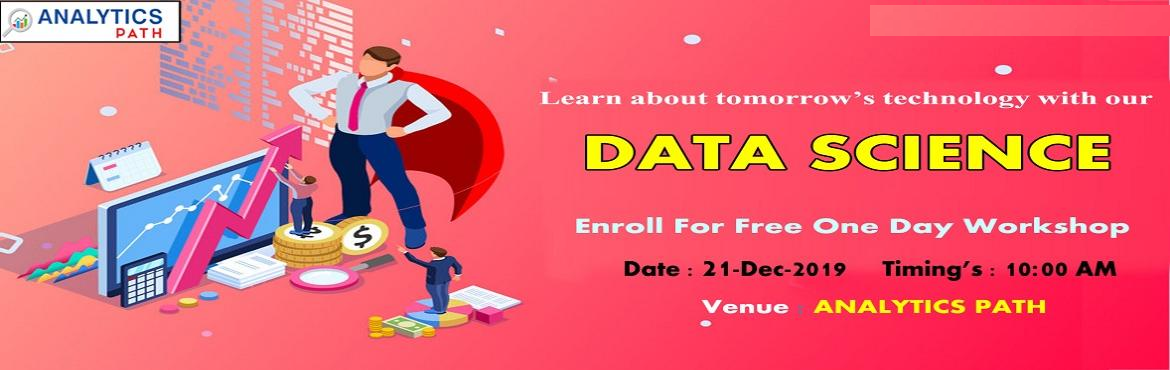 Book Online Tickets for Data Science Free Workshop Session With , Hyderabad. Data Science Free Workshop Session With IIT & IIM Experts On 21st Dec @ 10:00 AM, Hyderabad By Analytics Path. Reserve You Seat About The Workshop Session: Data Science is among the most widely used business analytics software development applica