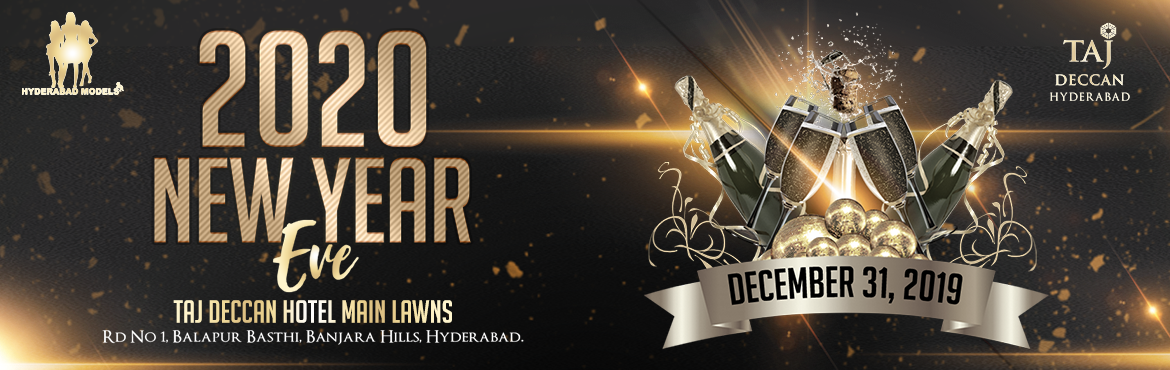 Book Online Tickets for New Year Eve 2020 at Taj Deccan, Hyderabad. Get FLAT 10% on this Event. Use Code: ENED288 Offer Valid Till 31st Dec Event Attractions :-   1) Bollywood Music - DJ Felix 2) Live singers  & Foxsters Live Band  3) Emcee  5) Fashion Show  6) Dance Performance