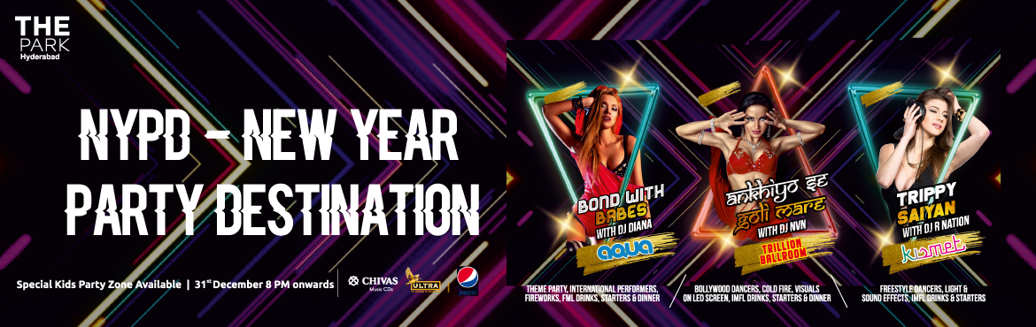 Book Online Tickets for New Year 2020 at The Park Hyderabad, Hyderabad. Hyderabad are you ready to witness the biggest bash of the year? Join the New Year Bash at the home of all the party ravers of the town! Experience sultry and futuristic New Year affair with international acts, party with the best DJ's of the c