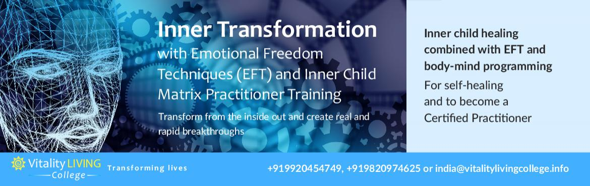 Book Online Tickets for Inner Transformation Program Mumbai and , New Delhi. INNER TRANSFORMATION PROGRAM with Dr Rangana Rupavi Choudhuri (PhD)         Learn how to help yourself and others relieve stress, tension, past trauma, sabotage patternsto enable health, happiness, confidence, wholeness and peace.This pro