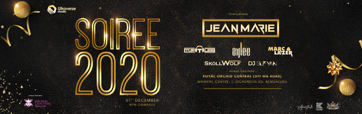 Book Online Tickets for SOIREE 2020, Bengaluru.     Step into an amazing and exciting year 2020! Celebrate while you groove to the beats of our live DJs. Indulge yourself in a lavish multi cuisine buffet and free flowing alcohol.Let SOIREE 2020 make your celebrations grand.HIGHLIGHTS• INDOOR