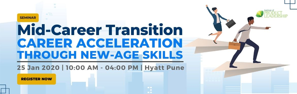 "Book Online Tickets for Mid-Career Transitions: CAREER ACCELERAT, Pune. Seminar is a great opportunity to understand how to move into new roles and get a personalized career assessment and how to put together a plan to go from the feeling of ""stuck"" to ""go farther faster""!  IDEAL FOR  Working"