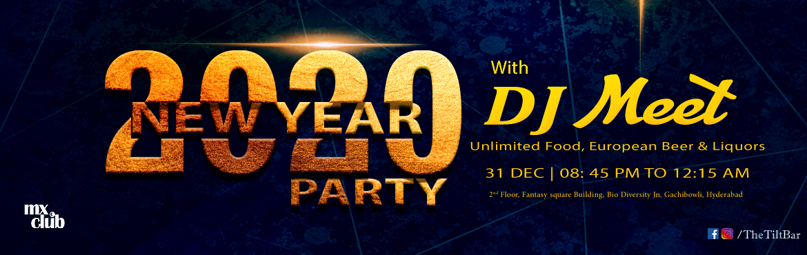 Book Online Tickets for New Year Party - European Bar In Hyderab, Hyderabad. elebrate New Year\'s Eve at One of a kind Party  in Hyderabad with Unlimited Imported European Beers and Liquors and Unlimited Food. On 31 DEC from 08:45 PM to 12:15 PM.