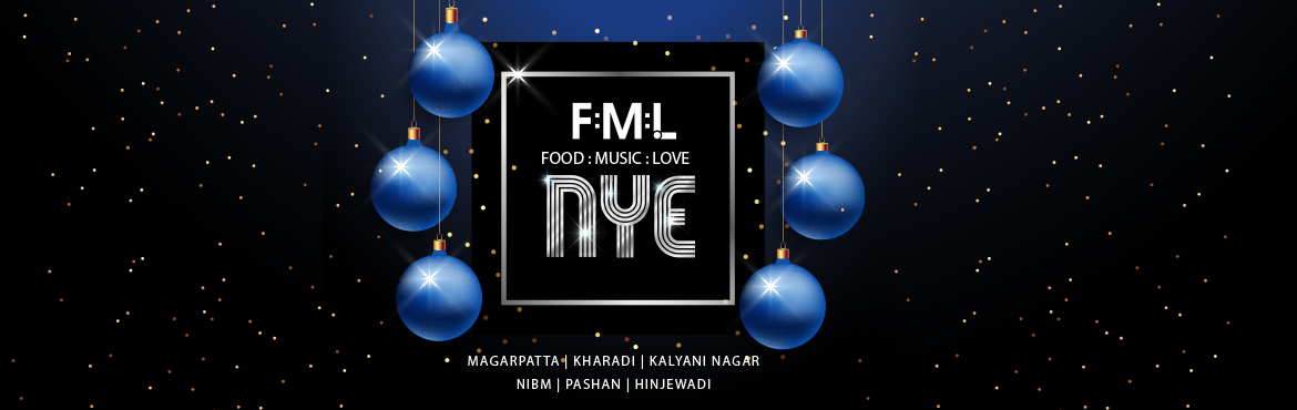Book Online Tickets for FOOD MUSIC LOVE NYE Ball 2020, Pune.  We\'ve got the most exclusive New Year\'s Eve party anywhere! Come spend the last night of the year with us, your family, gang and just everybody you love! THREE LIVE DJs set to rock your socks off all night long, as we bring in 2019 in