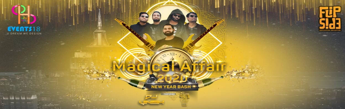Book Online Tickets for MAGICAL AFFAIR 2020 NEW YEAR BASH, Hyderabad. Get ready to beat the new year at the extraordinary moonlight party in India. Make this New Year eve 2020 a memorable one and may your last evening of the year will be the best evening of the year. This new year, reverberate in our Magical Affair 202