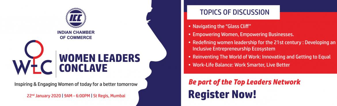 Book Online Tickets for Women Leaders Conclave 2020 - ICC, Mumbai.
