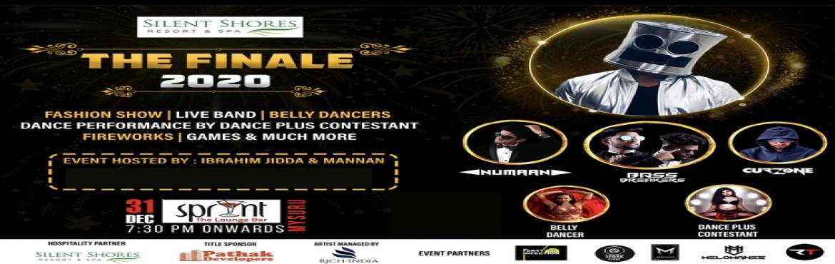 Book Online Tickets for Finale 2020, Mysuru. •••THE FINALE 2020••• We're celebrating the year end on a high note with ' THE FINALE 2020' - a luxurious and breathtaking affair to be seen this New Year's Eve. Witness the biggest party in your