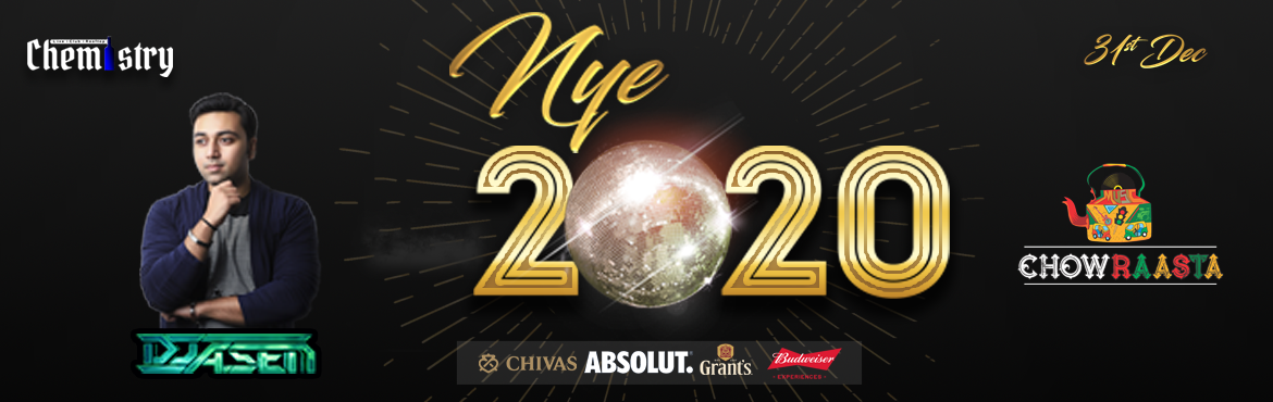 Book Online Tickets for NYE Bash 2020 at Chemistry Pub, Hyderabad. OMG it is the end of the year already! Its time to say Goodbye to 2019 in style! Chemistry brings to you the best NYE party in town! Chemistry presents Celebrity DJ ASEN from Mumbai and our favorite band CHOWRAASTA! Put those dancing shoes on and dra