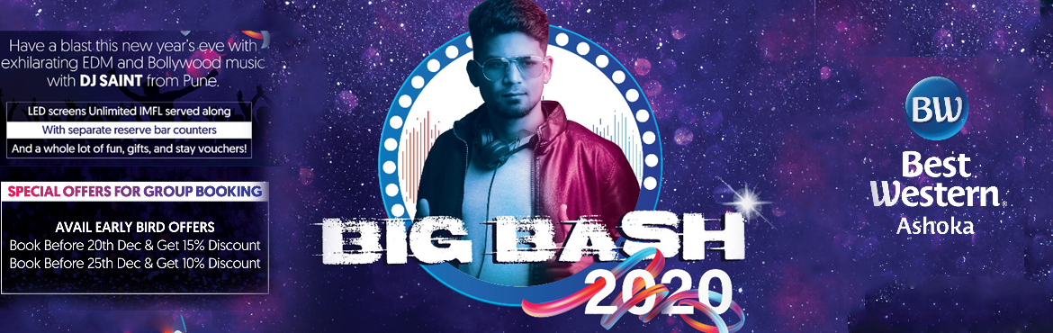 Book Online Tickets for Big Bash 2020 at Best Western Ashoka, Hyderabad. Casino Themed New Year Party, The Decade Edition! Presenting the 1st Edition of Hyderabad most loved New Year party 2020 the Casino Premium Edition. Since 1978, We have served over Millions Of guests in the best 3-star Hotel of Hyderabad! And were ba