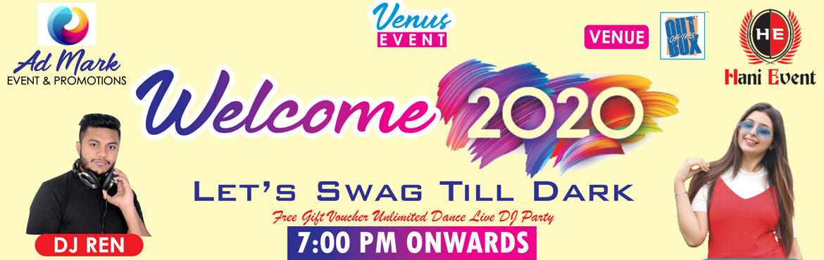 Book Online Tickets for Welcome 2020, Rajkot. DJ BLAST....... Firing The Floor..... DJ REN VEDVI SONI Anchor  Kids 4 to 12 years (250) SINGLE RS 599 ( INCLUDE punjabi DINNER ) COUPLE RS 999 ( INCLUDE punjabi DINNER ) VVIP GAZEBO GROUP OF 20 PERSON RS 25000 ( INCLUDE PRIVATE SECTION F
