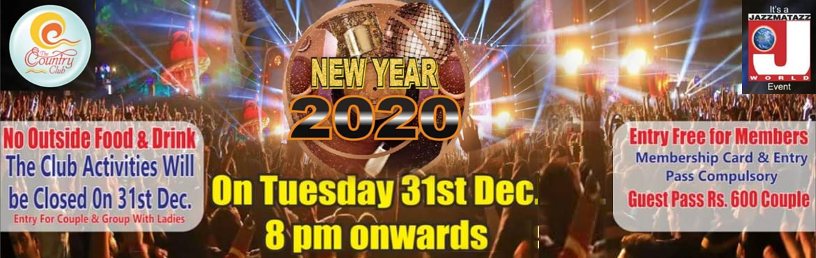 Book Online Tickets for NEW YEAR DANCE 2020, Pune.  NEW YEAR DANCE 2020