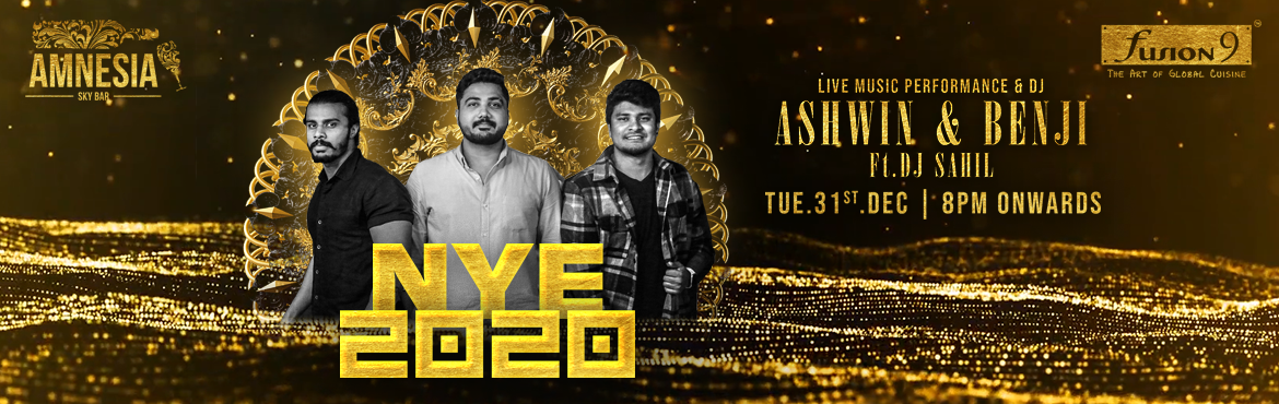 Book Online Tickets for NYE 2020 at Fusion 9, Hyderabad. Live Band Performance by Ashwin & Benji They are very popular band in Hyderabad which they play bollywood and regional songs and also will be having the Dj sahil will make you on the floor to dance. Artists:ASHWIN & BENJI