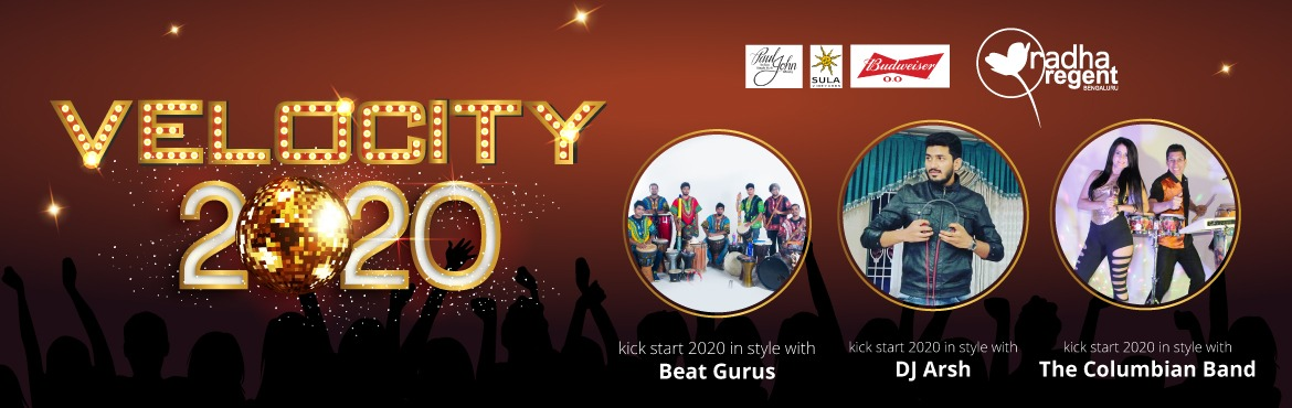 Book Online Tickets for VELOCITY 2020, Bengaluru.  VELOCITY 2020 Single entry ticket to all entertainments. African Trance tribal music by Beat Gurus Bangalore. Latin Music by Colombian duo George & Carolina @ Aura lounge bar by the pool. DJ by Arsh from Bangalore who has played in mor