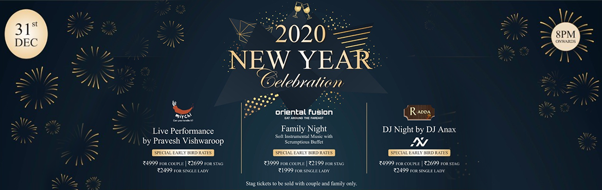 Book Online Tickets for New year Celebration At Oriental Fusion , Pune.  Family Night @ Oriental Fusion Restaurant:- This New Year Ramee Grand Hotel & Spa presents a memorable evening @ Oriental Fusion Restaurant, Enjoy like there's no tomorrow with an explosion of colour, Family Nights and Instrumental Mu