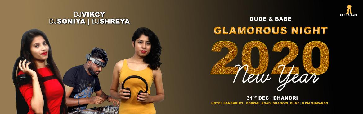 Book Online Tickets for Glamorous Night 2020, Pune. Glamor and good times go hand in hand. The Glamorous Night 2020 is an Exclusive New Year Celebration Part for Couples and Females (Stag) which is trying to bring the best of the mind- blowing New Year experience to Dhanori, Pune.Hotel Sanskruti is a